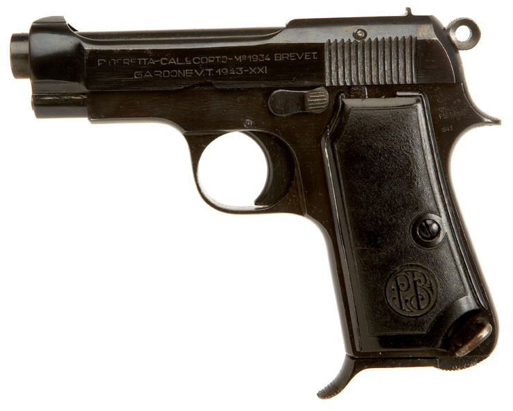 Reliable Auto Parts >> Deactivated WWII Issued Beretta Model 1934 Pistol - Axis Deactivated Guns - Deactivated Guns