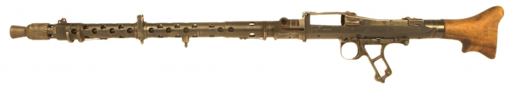 Just Arrived, Deactivated WWII Battle Damaged MG34