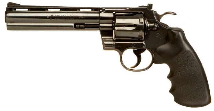 Deactivated Colt Python .357 Magnum Revolver - Modern ...