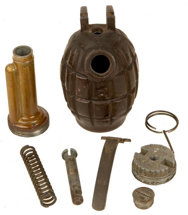 WWII Inert British No36m MKI Mills Grenade