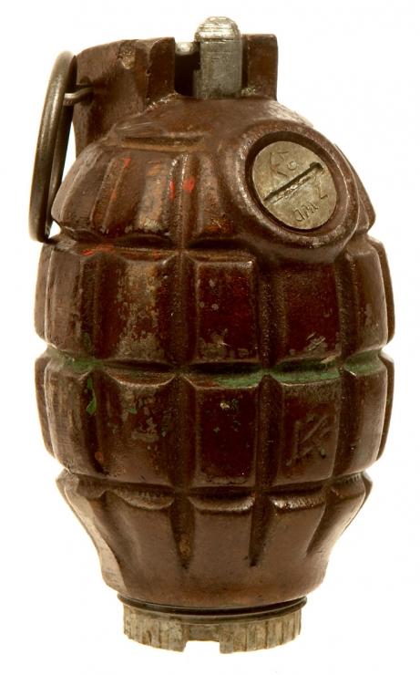 Inert WWII British No36M MK1 Mills Grenade - Militaria