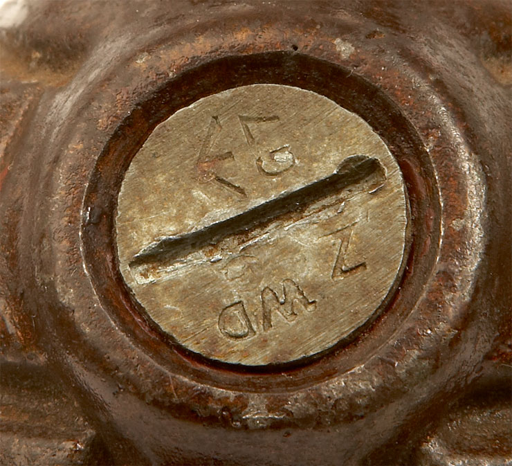 Inert WWII British No36M MK1 Mills Grenade