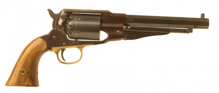 Just Arrived, Deactivated Uberti Remington model 1858 Sheriff percussion revolver