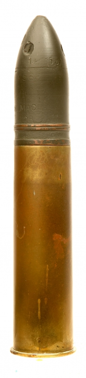 RARE inert WWI US 37mm Shell
