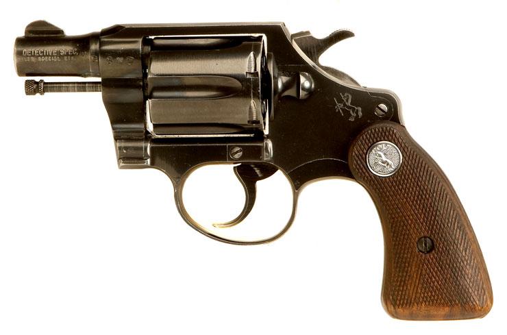 Deactivated Colt Detective Special .38 Snub Nose Revolver ...