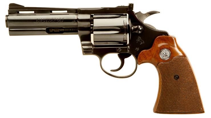 Mint Condition Deactivated Colt Diamondback .38 Revolver ...