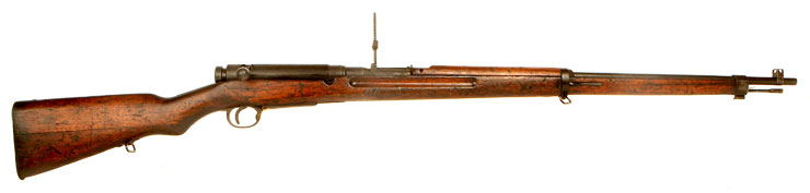 Deactivated WWII Japanese Arisaka Type 38 rifle