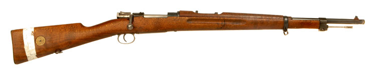 Deactivated WWII  Swedish military Husqvarna rifle