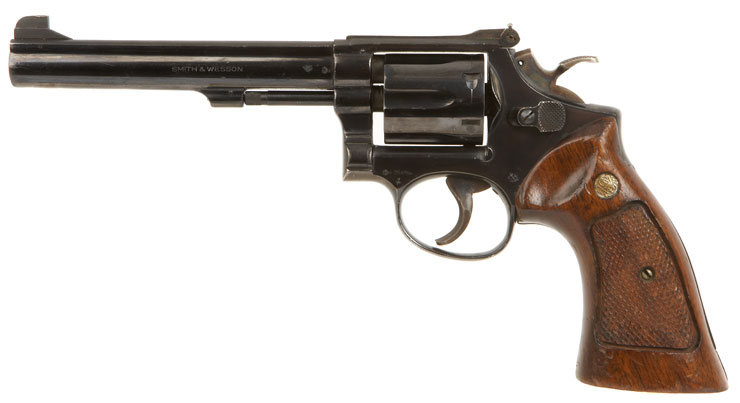 Deactivated Smith Amp Wesson Model 14 3 38 Special Revolver