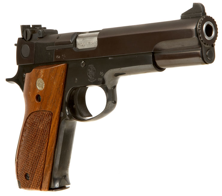 Deactivated Smith Amp Wesson Pistol Model 52 2 Modern