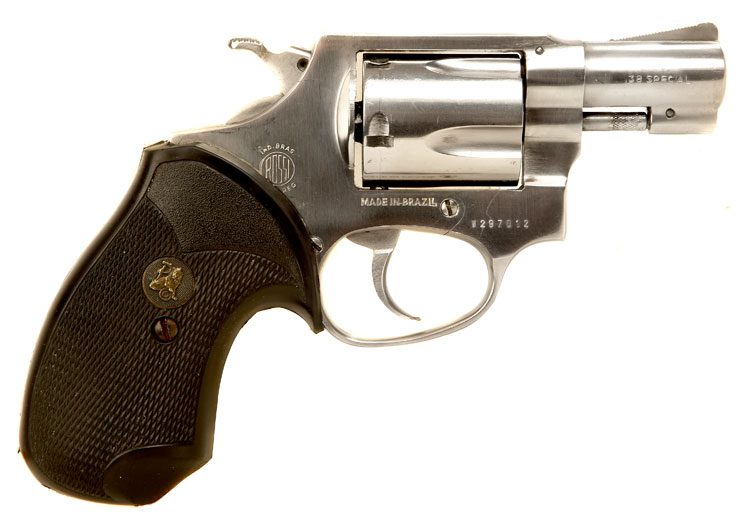 Deactivated Rossi  38 Special Snub Nose Revolver - Modern