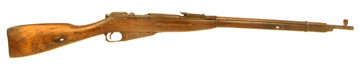 Deactivated WWII Russian Mosin Nagant Rifle - Winter War Period