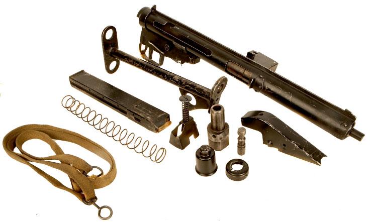 Deactivated WWII Enfield Sten MK3 Submachine Gun - Allied
