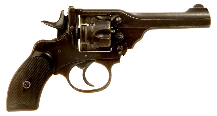 Deactivated WWII Webley MKIII .38 Police Issue Revolver