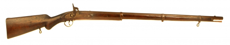 Three Band Enfield percussion musket.