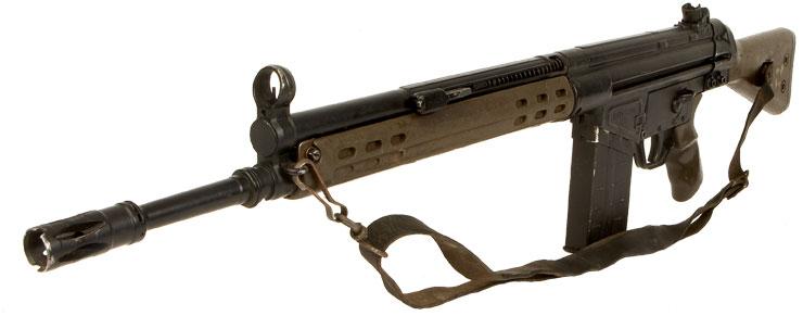 Deactivated heckler amp koch g3 battle rifle modern deactivated guns