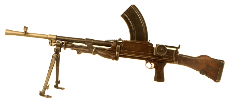 Deactivated WWII Enfield Bren MKI dated 1941