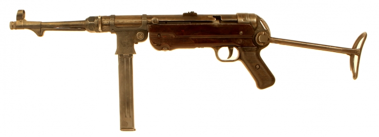 Deactivated WWII MP40 BNZ41 Slab Sided