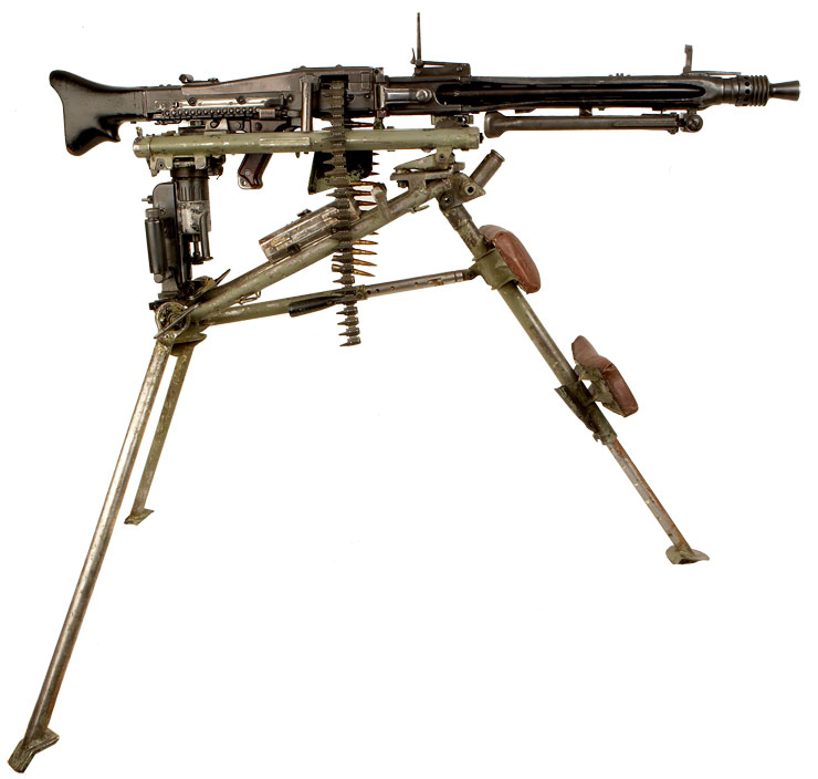 WW2 German MG42 Lafette - MJLmilitaria