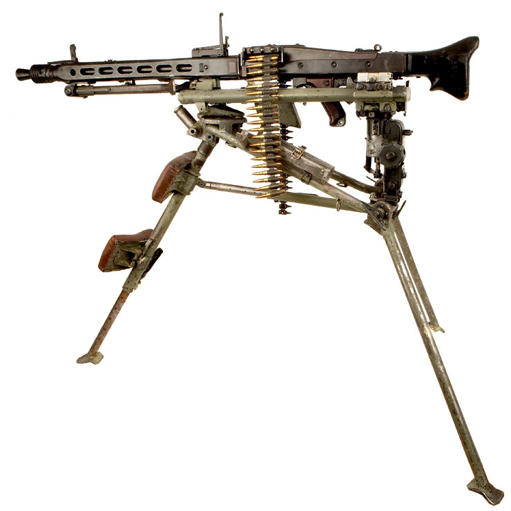 the MG42 machine gun