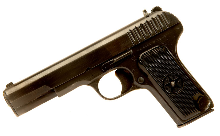 Just Arrived, Deactivated WWII Russian TT33 Pistol