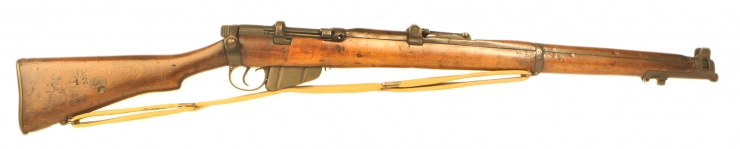 Deactivated WWII SMLE No1 MKIII Rifle