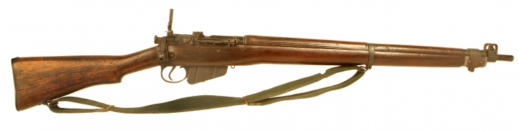 Decativated WWII British Lee Enfield No4 MKI Rifle