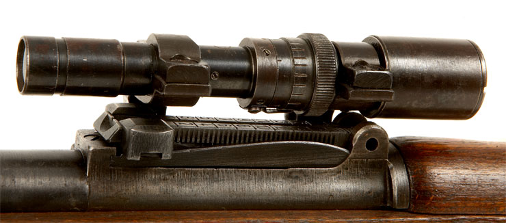 Deactivated WWII K98 Fitted with ZF41 Scope & Mount - Axis ...