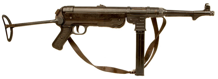 ... Old Specification WWII Nazi MP40 Submachine gun by Erma (ayf