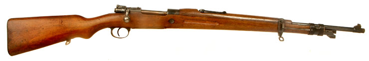 Deactivated Spanish Mauser K98