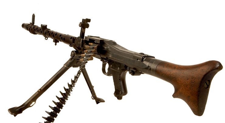 wwi german machine gun