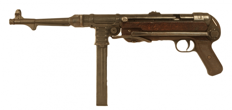Just Arrived, Deactivated WWII German MP40