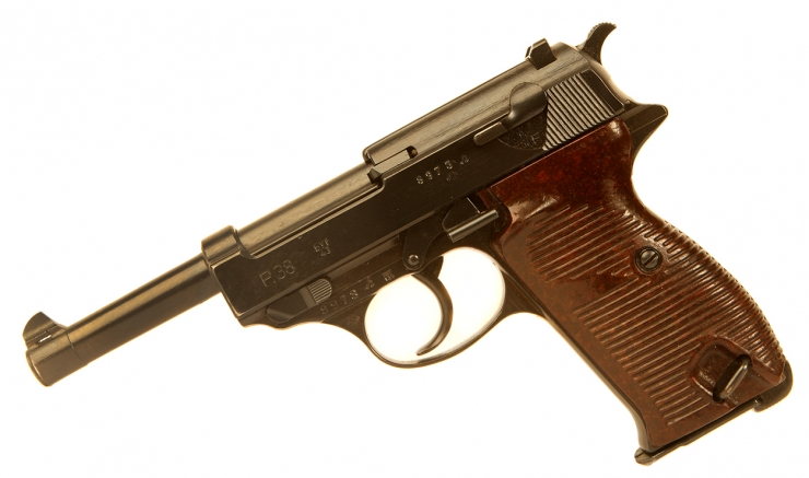 Deactivated WWII Mauser P38 Pistol