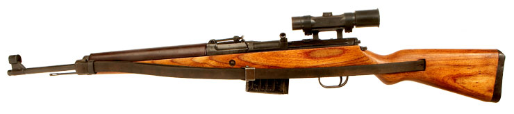 Deactivated Very Rare WWII German G43 Semi Automatic Rifle