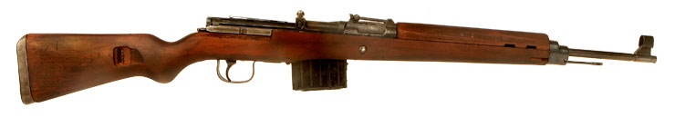 Deactivated WWII German K43 Rifle