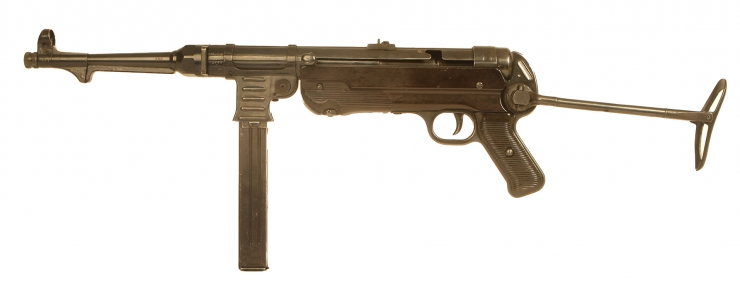 Deactivated WWII Nazi MP40 Submachine Gun