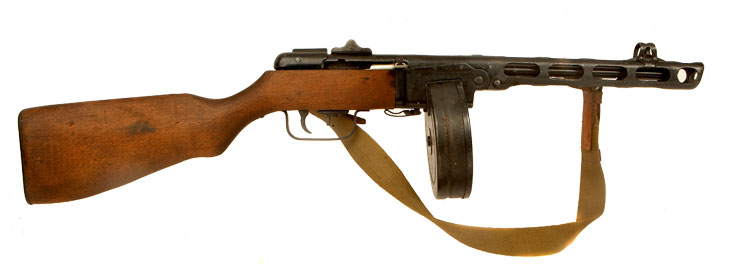 Deactivated WWII Russian PPSH43