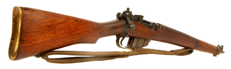 Deactivated Second World War British made Lee Enfield No4