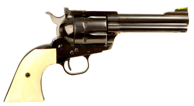 Deactivated Ruger Blackhawk .44 Magnum Flattop Revolver ...