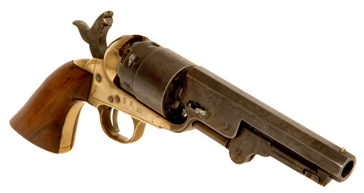 colt 1862 pocket navy percussion revolver allied deactivated guns