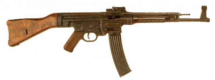 Deactivated WWII German MP44 Assault Rifle