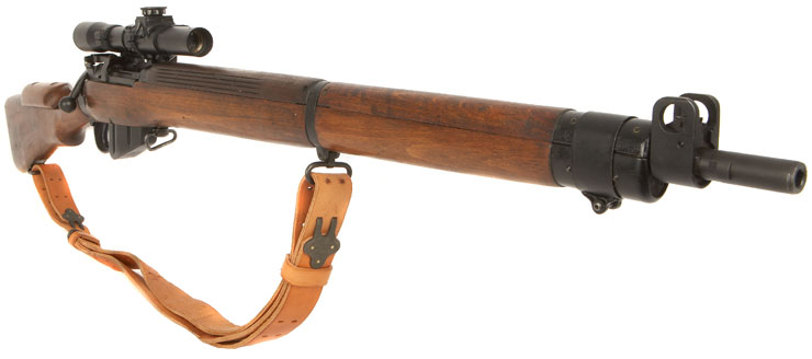 303 British Sniper Rifles http://www.deactivated-guns.co.uk/live-firearms-and-shotguns/genuine-wwii-live-no4t-303-sniper-rifle/prod_1058.html