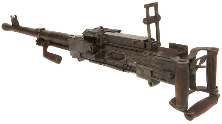 wwii machine gun