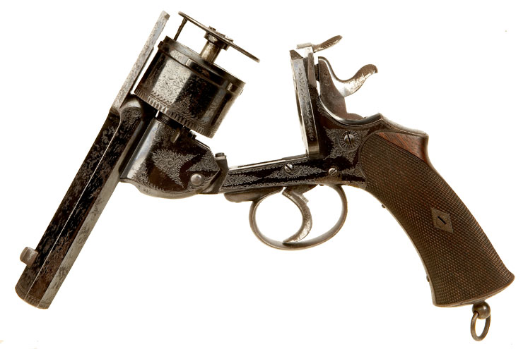 how to open break action revolver