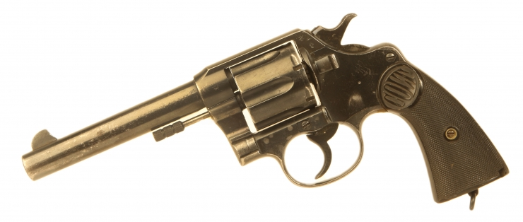 Deactivated WWI British Officers Colt Eley .455 Revolver