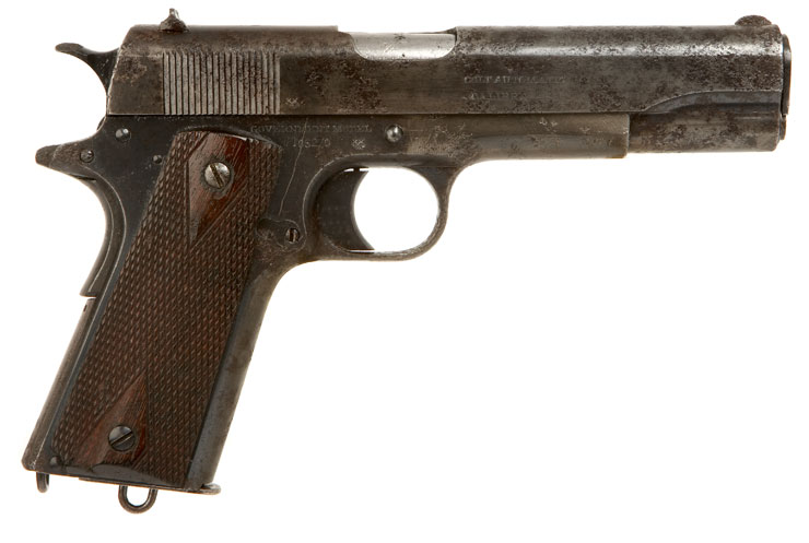 Incredibly Rare Colt 1911 .455 Eley RAF Contract