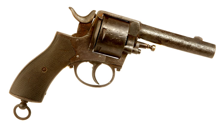 Deactivated Webley Type .450 R.I.C. Revolver