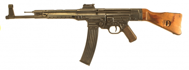 Deactivated WWII All Matching Numbers German MP44