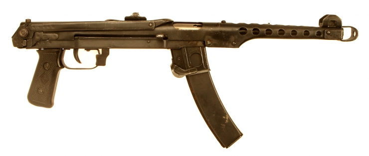 Deactivated WWII Russian PPS43