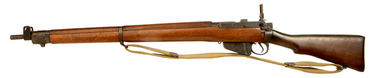 Deactivated WWII British No4 MKI Rifle
